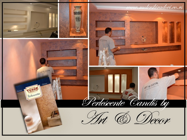 perlescente candis - art decor